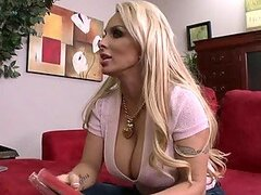 Busty Blonde MILF Holly Halston Fucking Her Son's Friend