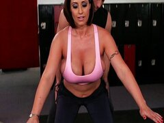 Eva Notty get coach's cock in her pussy