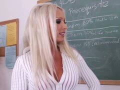 Horny teacher Diana Doll...