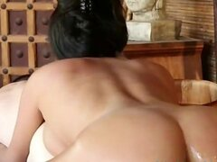 Anissa Kate gives hot nuru massage and blowjob