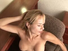 Busty housewife viktoria shows how she masturbates