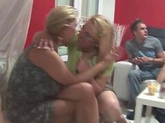 Mature Beauties Have Hardcore sex In Swinger's Party