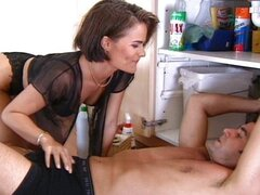 French wife fucked by plumber and husband
