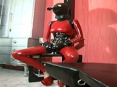Slutty slave girl gets wild and dirty