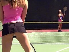 Bailey, Danica and Melissa are Lesbian Tennis Players