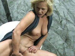 BDSM dominating and pussy pumping with mature slut Elisa