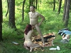 Russians in the Woods