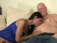 Veronika jane surprise sex for grandpa