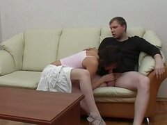 Stockings Sex at the Second Date