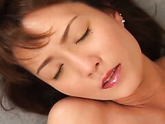 Skinny Japanese MILF is seduced by her secret lover