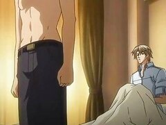 Sexy hentai gay having hot foreplay and sex