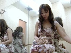 Cute ballet dancer bared off her petite body on hidden cam