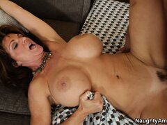 He fucks Deauxma s then lays back so she can ride him