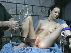 Young babe in BDSM hardcore