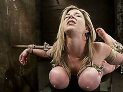 MILF with EE tits has so many orgasms ripped out of her Cries from the brutal emotion of it all