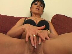 Dude bangs a hairy milf bitch in boots