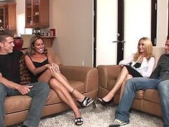 Swinger Fucking With The Hot Babes Leslie Love & Adriana DeVille