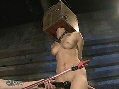 Lovely Brunette Gets High in BDSM Video