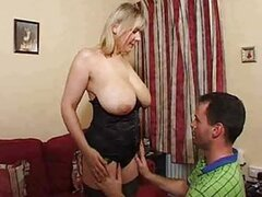 Mature blonde super big