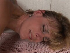 Cum starving blonde bombshell mom down for hardcore fun
