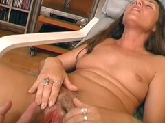 Unshaved German pussy
