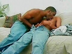 Wild black dudes sucking and fucking