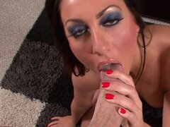 Tiffany Brookes giving amazing oral