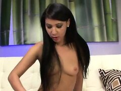 Teen in a trance toying
