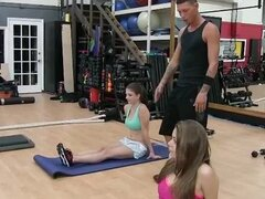 Super hot teens fucked in a bootcamp