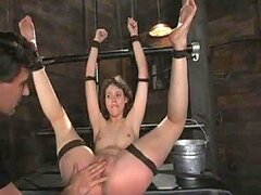 Hot Deep Throat Torture For A Naughty Girl