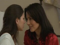 Lovely Shyla Jenningis On Lesbian Fun With Hot MILF.