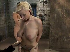 Busty Babes Suffer and Enjoy in BDSM Vid