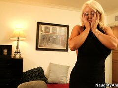 Alura Jenson is a blonde milf with fabulous huge tits...