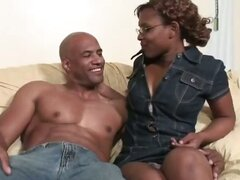 Rain is one sweet ebony bitch who loves to take the dick Her cocoa cunt is sweet as can be so Jack dips his meat straw balls deep into it fucking this black beauty with his ginormous cock until she screams for him to stop