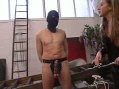two hot chicks humiliate a guy