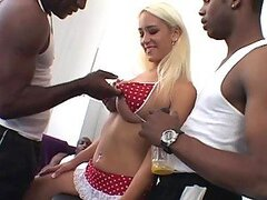 Busty Teen Trina Michaels Gets Double Penetrated In An Interracial Gangbang