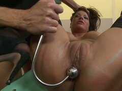 Hot Angelica Heart Tied and Ass Tortured in Classroom