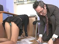 Hot Assistant Penally Punished For Being Late