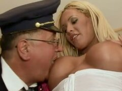 Angie Knight gives Grandpa a good time