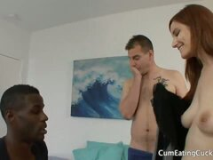 Phoenix Askani Works a Black Cock and Makes Hubby Watch