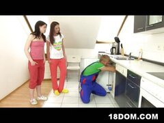 Plumber Gets Fucked