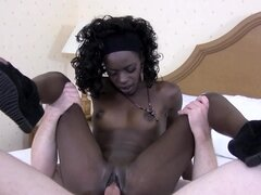 Ebony Daeja Monae craves to get dick in her puss
