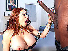 Monster Cock Riding With An Insanely Hot Redhead Milf