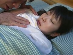 Hot asian teen fucked by her stepfather