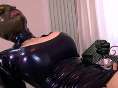 Latex wearing fetish slut fucked