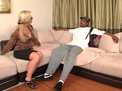 Hot Mom Amber Lynn's BBC Takeover Bid