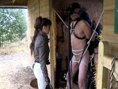 milf in jodhpurs and over the knee boots