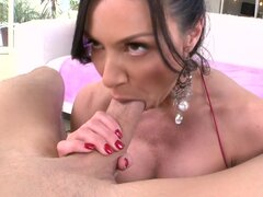 Busty MILF Kendra Lust Gets a Cock Between Her Boobs and in Her Pussy