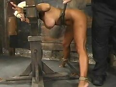Extreme Bondage For a Extremely Sexy Blonde In BDSM Vid