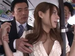 Office Chick Rio Turns These Guys On In Public